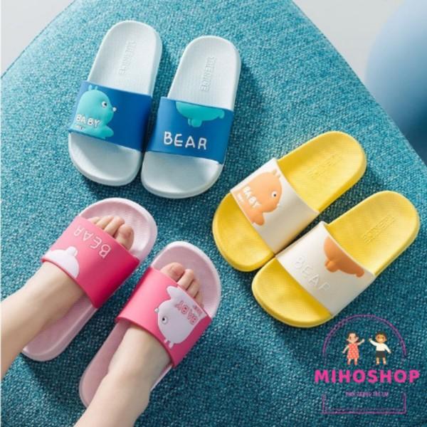 Giá bán Dép Quai Ngang Mềm Baby Bear Phong Cách Hàn Cho Bé Trai Bé Gái MihoShop