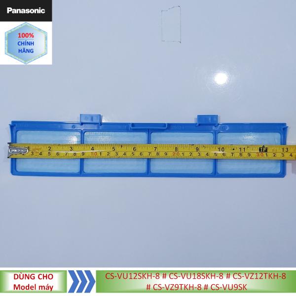 Phụ kiện Lưới lọc điều hòa Panasonic model CS-VU12SKH-8 #CS-VU18SKH-8 #CS-VZ12TKH-8 #CS-VZ9TKH-8 #CS-VU9SKH-8- Tấm nhỏ