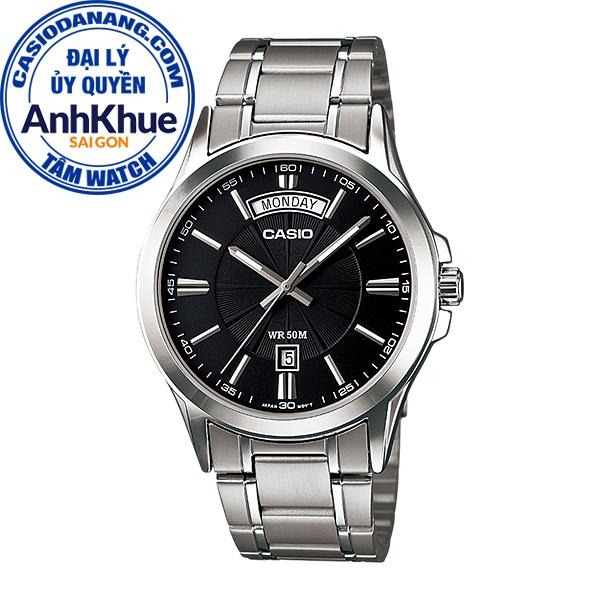 Đồng hồ nam dây kim loại Casio Standard chính hãng Anh Khuê MTP-1381D-1AVDF (39mm)