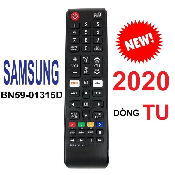 [HCM]Remote điều khiển tivi Samsung smart BN59-01315D dòng TU (Model 2020 - Hàng xịn)