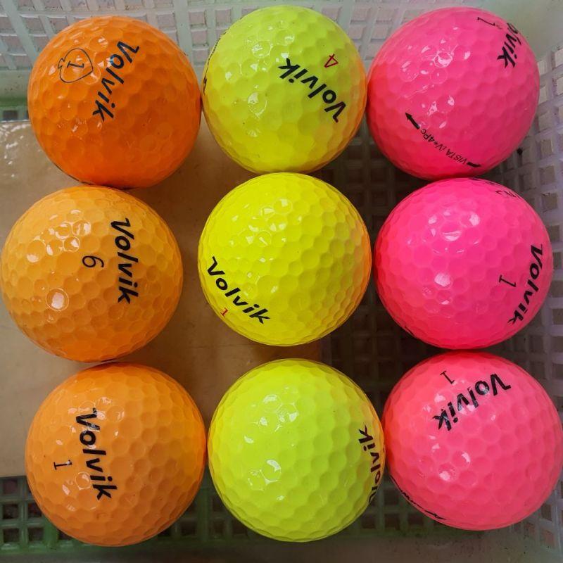 10 quả Bóng Golf Màu các hãng. Bóng Golf Màu