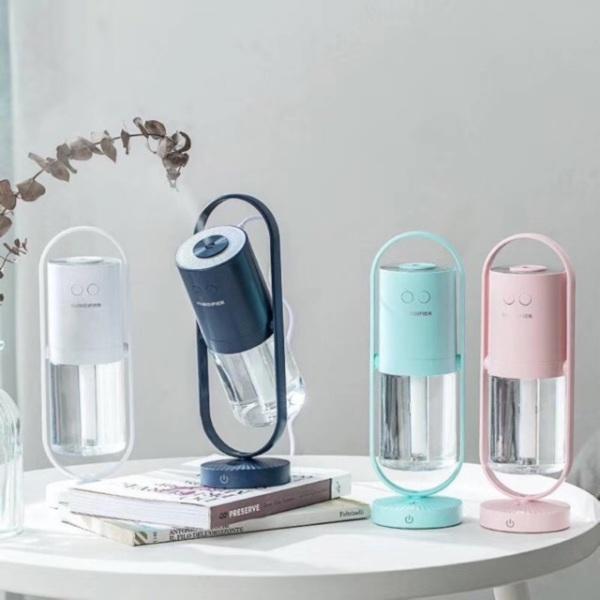 Bảng giá Máy tạo ẩm / Máy phun sương mini HM90 đèn led 7 màu siêu đẹp 2 chế độ tạo ẩm không gây ồn, có cổng USB, chức năng tự tắt khi hết nước, tạo ẩm hạt siêu nhỏ không sợ ướt bàn, nhỏ gọn tiện nghi dễ dàng mang theo