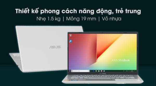 Bảng giá Máy tính xách tay laptop Asus A412FA i3-8145U, 4Gb RAM, SSD 512GB, Win10, 14 inch hàng mới chính hãng bảo hành 24 tháng Phong Vũ