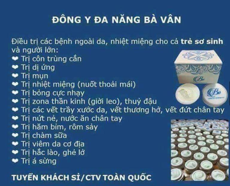 Kem Bà Vân-Hàng chuẩn công ty