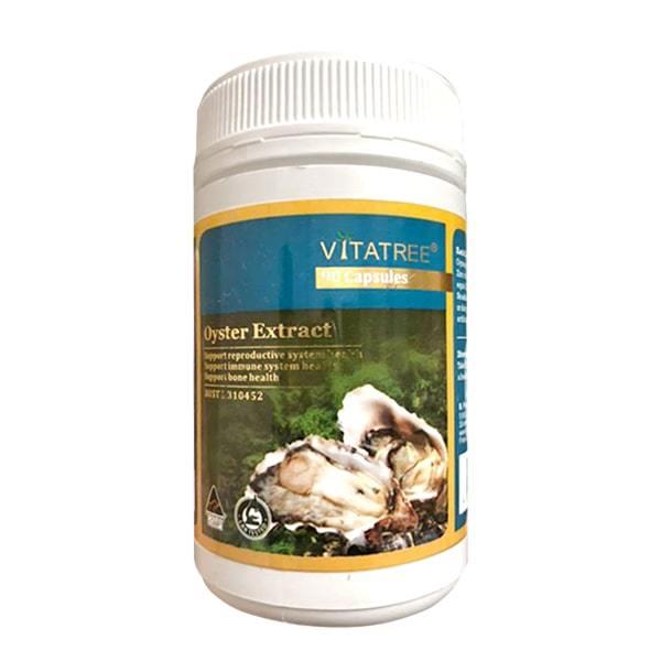 Viên uống Tinh chất hàu Úc Oyster Extract Vitatree hộp 90 viên cao cấp
