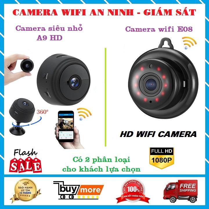 Camera mini wifi siêu nhỏ-camera an ninh,camera ip giám sát,gia đình A9 HD hoặc E08-V380 nhỏ hơn,giá rẻ hơn (yoosee Netcam Sony Ezviz Xiaomi VSTARCAM siepem ntc INQMEGA Vitacam Bun Bea Sricam Ebitcam Smart New Hikvision kbvision)