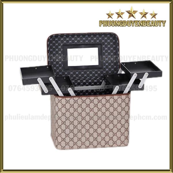 [HCM]Cốp MakeUp Đựng Đồ Nghề Mi Nail Phun Xăm - Đa Năng - 2 Tầng giá rẻ
