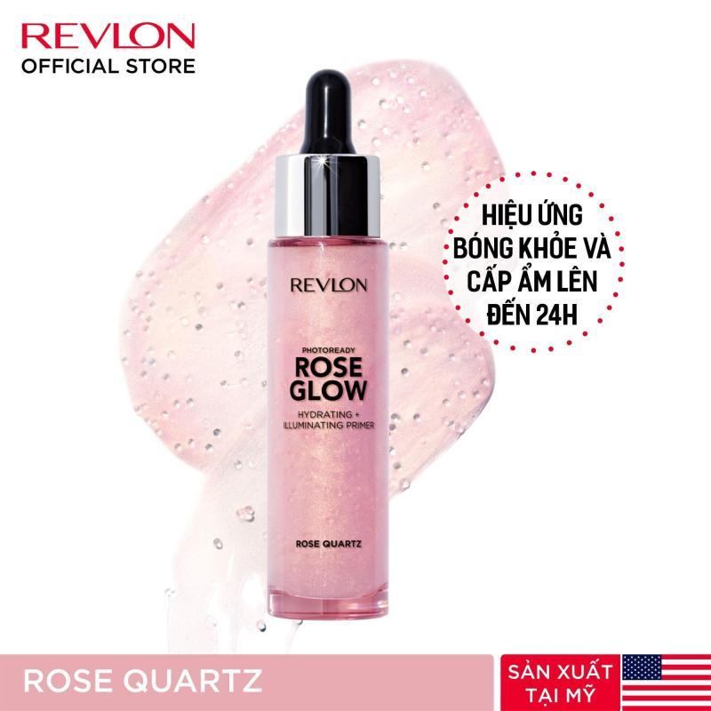 Kem lót chuyên nghiệp dưỡng ẩm và bắt sáng Revlon PhotoReady Rose Glow 30ml #Rose Quartz