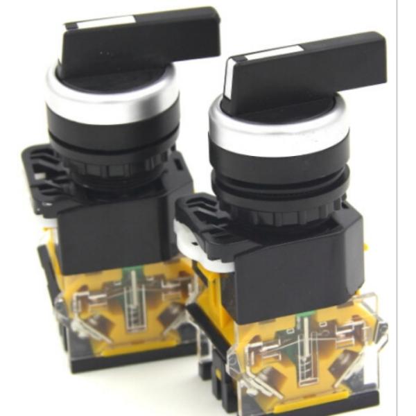 Bảng giá Công tắc xoay LA38-11XB/2, LA38-20XB/3 cần dài phi 22mm giá rẻ chuyển mạch 2-3 vị trí