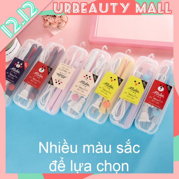 【Urbeauty Mall】Máy duỗi tóc, Máy kẹo tóc Mini (Loại tốt, lớp phủ men gốm) nhiều màu nhập khẩu