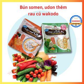 Mì rau củ tách muối Wakodo cho bé từ 7 tháng thumbnail