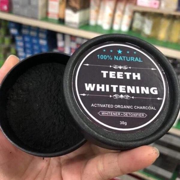 [ Trọng Thắng Store ] Bột than tre hoạt tính làm trắng răng , trị hôi miệng. giá rẻ