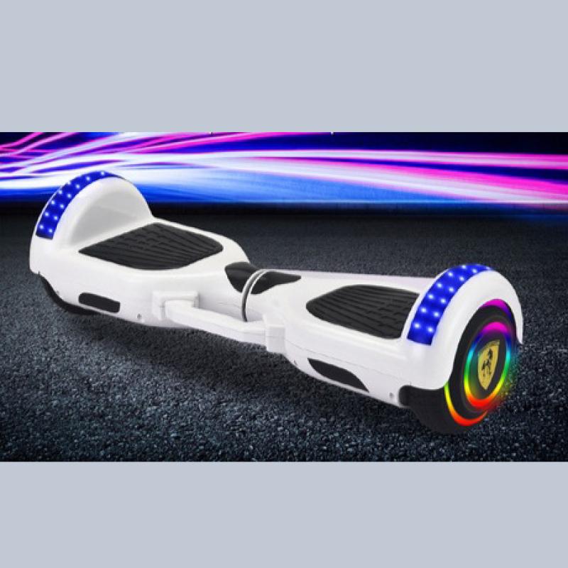 Phân phối Xe điện cân bằng Bánh 6.5 inch loa bluetooth và đèn LED