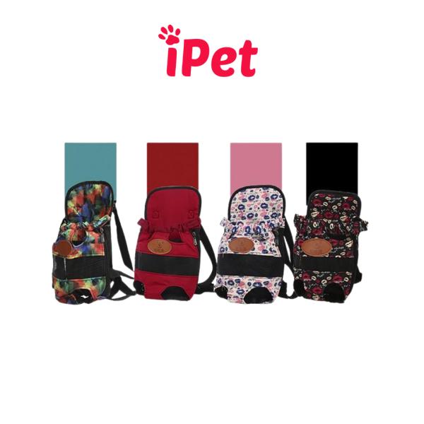 [HCM]Túi Đeo Địu Thú Cưng Chó Mèo Tiện Lợi - iPet Shop