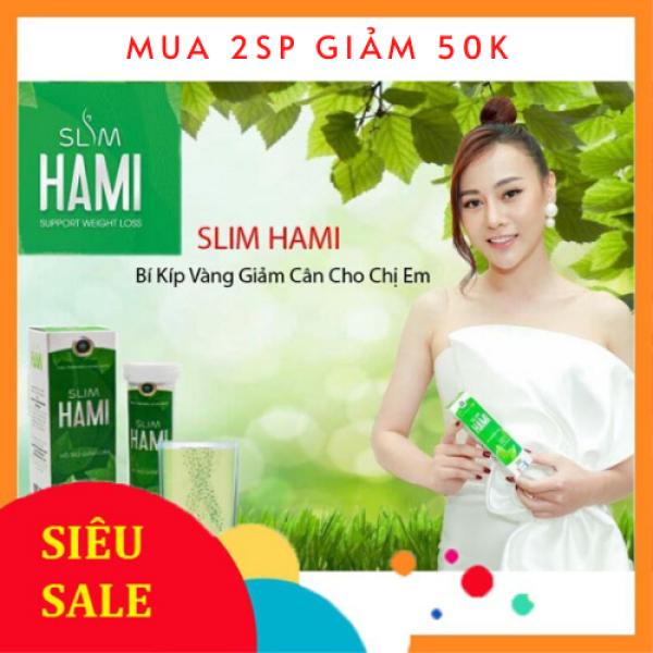 Viên sủi giảm cân Slim Hami Hàng chính hãng, Hộp 20 viên Sỉ/lẻ