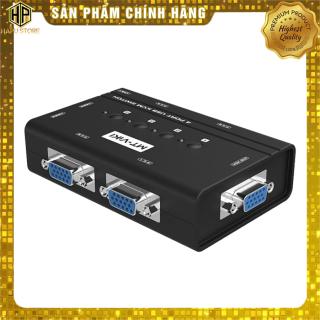 Bộ KVM switch USB MT-Viki MT-460KL 4 máy tính dùng chung 1 màn hình và phím chuột - Hapustore thumbnail