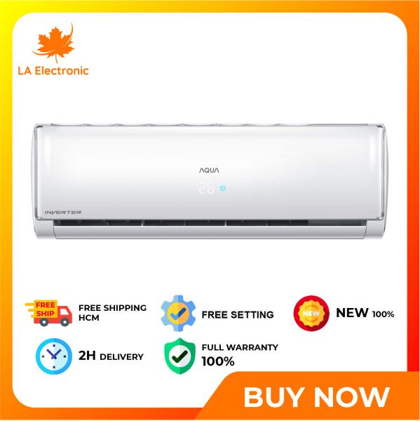Bảng giá [GIAO HÀNG 2 - 15 NGÀY TRỄ NHẤT 15.09] Máy lạnh Aqua Inverter 1.5 HP AQA-KCRV13TH - Miễn phí vận chuyển HCM và Công lắp đặt