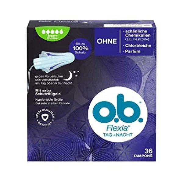 Tampon OB - Băng vệ sinh ngày đêm Tampon ob Super comfort 36st - Băng vệ sinh dạng nút - Nội địa Đức giá rẻ