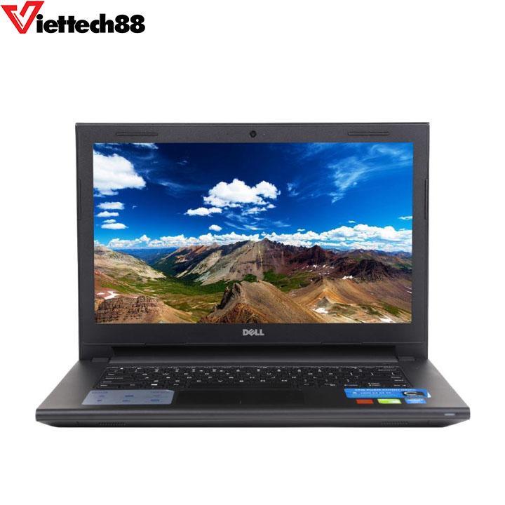"""Laptop Dell Inspiron 3443 Core i5 5200U Ram 4Gb HDD 500Gb Màn 14"""" HD"""