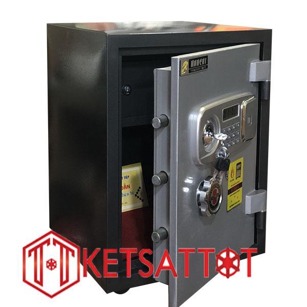 két sắt chống cháy Hanchi HT65 khóa điện tử