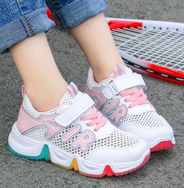 Giá bán Giày thể thao sneaker bé gái 3 đến 13 tuổi cao cấp - TT83
