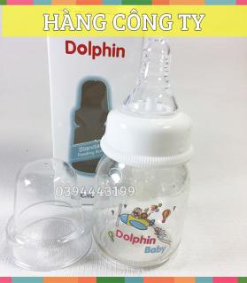 [Tặng 1 Núm Ty] Bình Sữa Streamline Cổ Hẹp 80ml Dolphin - DP018C thumbnail
