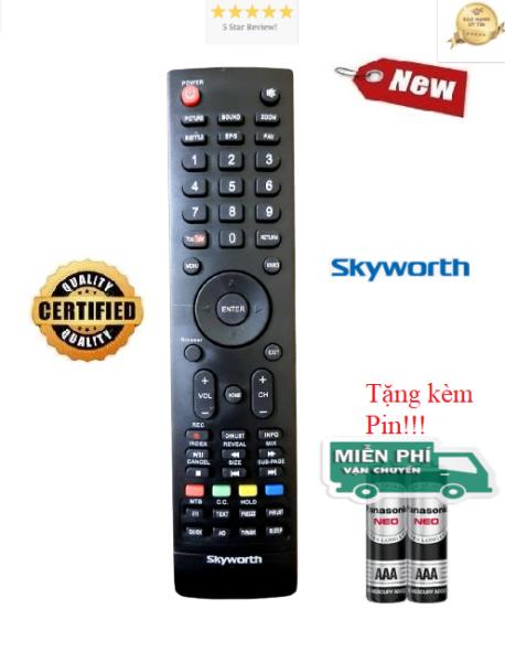Bảng giá Điều khiển tivi Skyworth - Hàng tốt 100%- ALEX - TẶNG KÈM PIN
