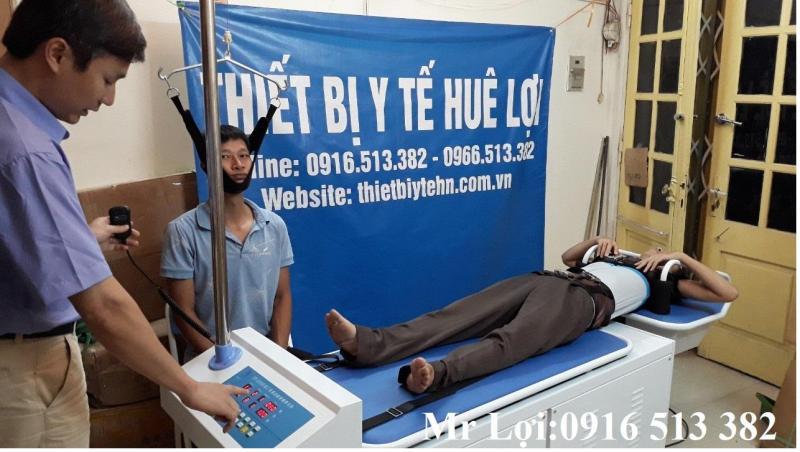 Giường kéo giãn cột sống cổ và lưng dùng cho bệnh viện, phòng khám