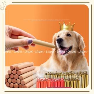Xúc Xích MASTIN Cho Thú Cưng, Thức Ăn Thưởng Cho Chó Mèo 3 Vị Bò, Gà, Vịt Thơm Ngon - JUNE PET SHOP thumbnail