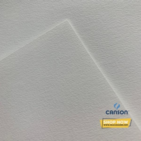 Giấy Vẽ Màu Nước Canson® 224gsm A4 Pháp