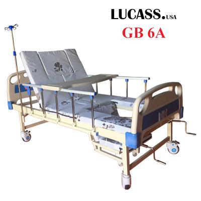 Giường bệnh nhân 4 tay quay Lucass GB6A