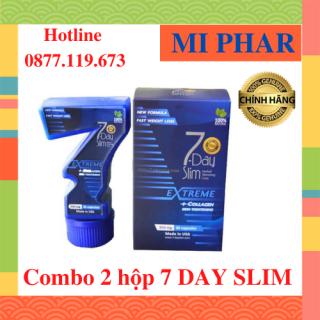Combo 2 hộp 7 Day Slim - Giảm cân chuẩn Mỹ check code điện tử trên website- MIPHAR thumbnail