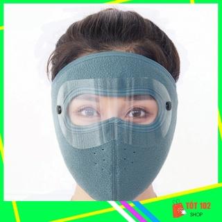 Khẩu Trang Ninja Nin Ja Nam Nữ Vải Nỉ Che Kín Mặt Chống Nắng Chống Bụi Có Kính HNX52 - Khau Trang Ninja Nin Ja Nam Nu Vai Ni Che Kin Mat Chong Bui Chong Nang Chong Ret Co Kinh - ShopTot102 thumbnail