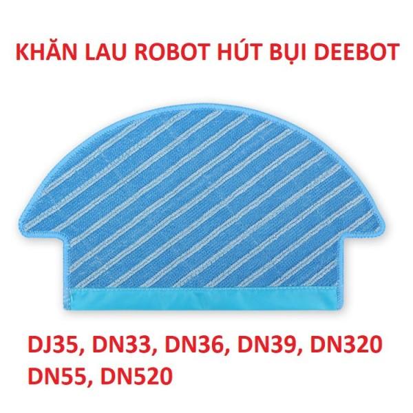 Khăn lau robot hút bụi Ecovacs Deebot De53, De55, DT87g, De33, De35.DN,33,DN55,DJ35.....