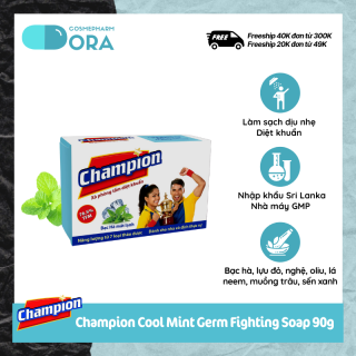 Xà phòng tắm diệt khuẩn Champion Germ Fighting Soap 90g thumbnail