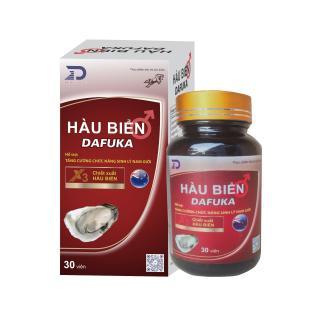 Viên uống hàu biển DAFUKA tăng cường sinh lý nam (hộp 30 viên) thumbnail