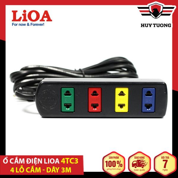 Bảng giá Ổ cắm có dây - Ổ điện an toàn - Ổ cắm điện đa năng - Ổ cắm điện Lioa ( 4 - 6 - 10 ổ cắm ) dây 5m và 3m Lioa - Betterlife