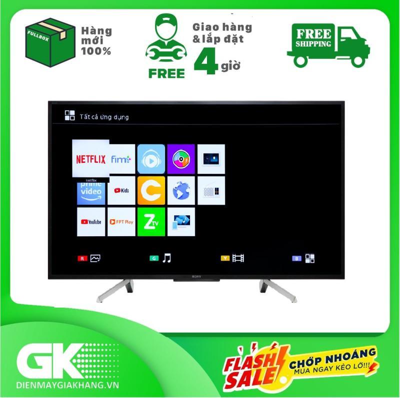 Bảng giá Smart Tivi Sony 50 inch Full HD KDL-50W660G Mẫu 2019 - Bảo hành 2 năm. Giao hàng & lắp đặt trong 4 giờ
