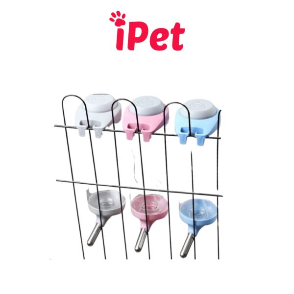 [HCM]Bình Bi Uống Nước Tự Động Gắn Chuồng Lồng Cho Chó Mèo - iPet Shop