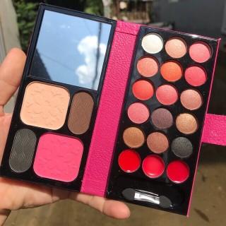 Vi Makeup Lameila Bộ Trang Điểm Cá Nhân phấn mắt má hồng phấn nền son Nô i Đi a chính hãng bền màu lêu trôi Siêu Tiê n Lơ i Si Tô t makeup kit WE Store thumbnail