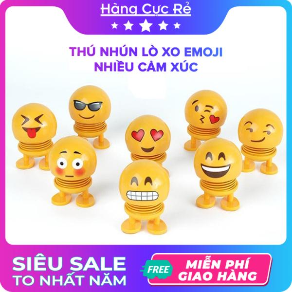 Thú nhún lò xo Emoji nhiều cảm xúc, đồ chơi trẻ em, trò chơi giải trí xả stress - Shop Hàng Cực Rẻ
