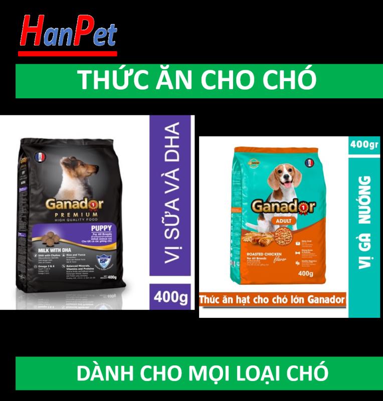 HCM - GANADOR  Thức ăn chó dạng hạt cao cấp (nhiều loại) thức ăn dành cho chó mọi lứa tuổi