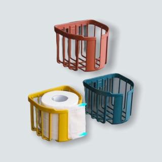 Giỏ đựng giấy vệ sinh bằng nhựa dán tường tiện dụng thumbnail