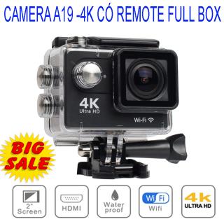 Camera hành trình 4K, Camera Hành Trình 1080 Sports, Camera 4K Ultra HD hành trình xe máy Camera phượt thể thao, CHỐNG NƯỚC, Chống Rung Lấy Nét Tự Động, BH 1 Đổi 1 trong vòng 12 tháng. thumbnail