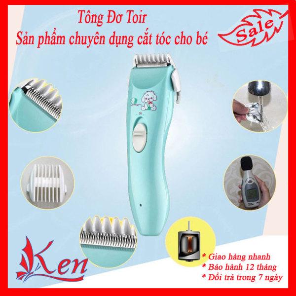 Tông đơ cắt tóc trẻ em chuyên nghiệp có sạc pin, dụng cụ máy hớt tóc cho bé TOIR