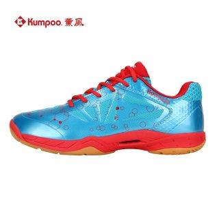 Giày cầu lông, Giày bóng chuyền nam nữ Kumpoo D42 cao cấp màu xanh ngọc thumbnail