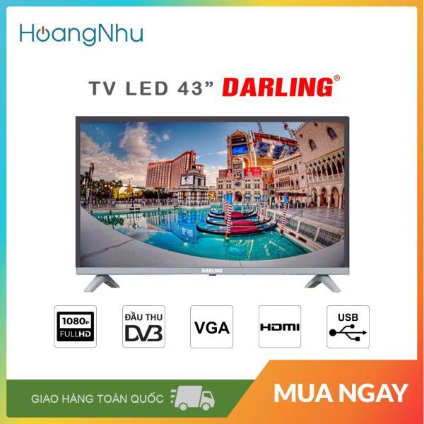Bảng giá TV LED Darling 43 inch 43FH958 (Full HD, truyền hình KTS) - Bảo hành toàn quốc 2 năm