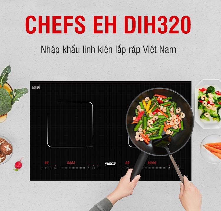 Bếp từ đô CHEFS EH-DIH320