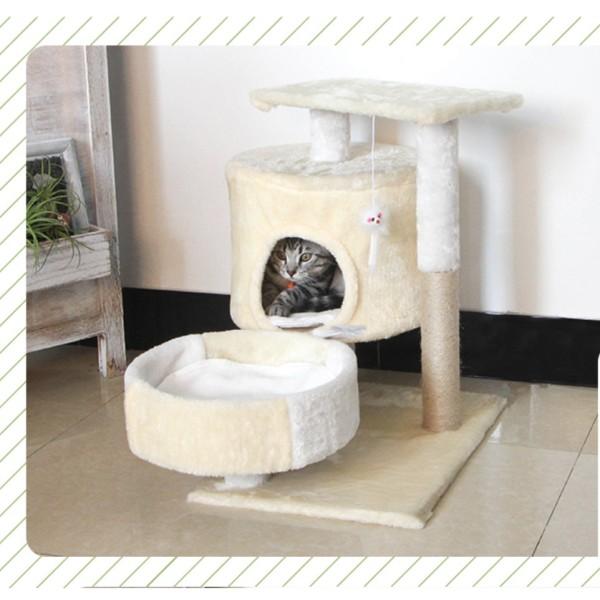 Cattree nhà mèo 3 tầng - Nhà cây cho mèo-INBOX SHOP ĐỂ ĐƯỢC HỖ TRỢ PHÍ SHIP Ạ