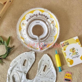 Sẵn Phao bơi cổ Malang Honey vỏ Organic Hàn quốc cho bé từ 3 tháng -2 tuổi thumbnail